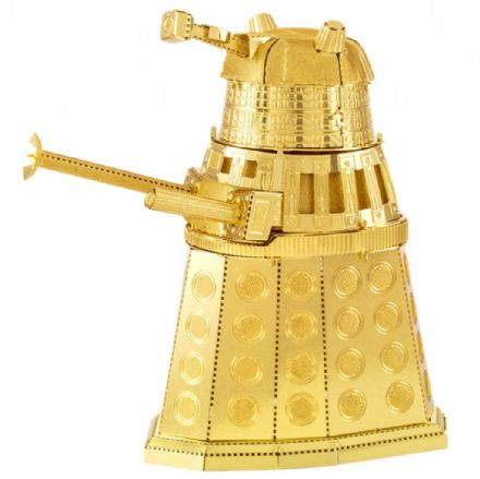 Dr Who Metal Earth Model Kit Gold Dalek